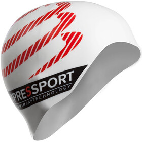 Compressport Swimming Cap Cuffia bianco